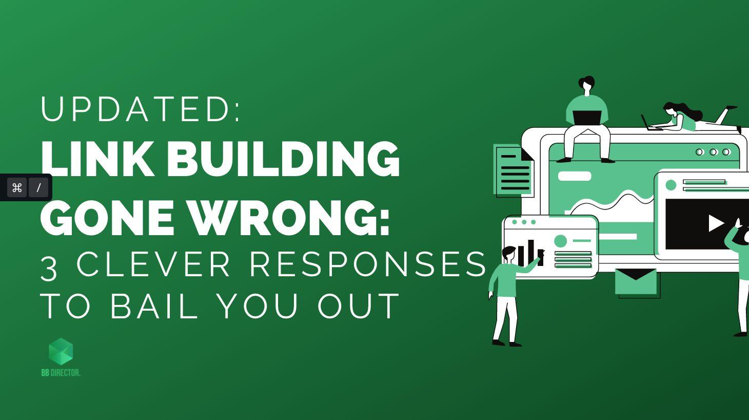 link building responses